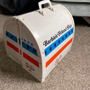 Vintage Barbie Friend Ship United Airplane Playset